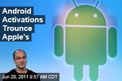 Google Android Activations Trounce iPhone, iPad, and iPod Touch Combined