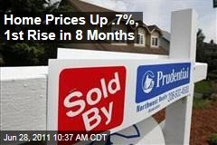 US Home Prices Rose Slightly Last Spring