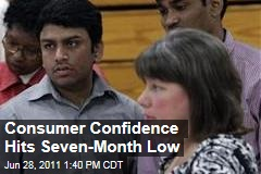 US Consumers' Confidence: June Sees Drop Due to Gas Prices, Unemployment, Housing Prices
