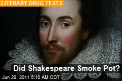 Did Shakespeare Get High?