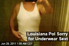 Louisiana Politician Joe Stagni Sorry for Underwear Pic