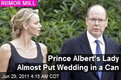 Was Prince Albert's Lady Almost Runaway Bride?