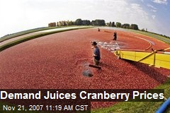 Demand Juices Cranberry Prices