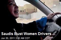 Saudis Bust Women Drivers