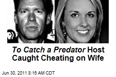'To Catch a Predator' Host Chris Hansen Caught Cheating on Wife With Kristyn Caddell—on Hidden Camera, of Course