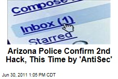 AntiSec Hackers Break Into Personal Emails of Arizona Police Officers