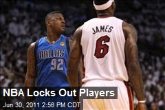 NBA Locks Out Players