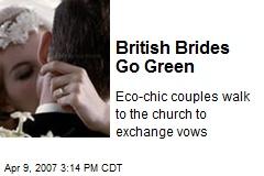 British Brides Go Green