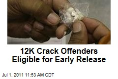 Crack Cocaine Convicts Eligible for Early Release From Prison
