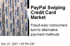 PayPal Swiping Credit Card Market