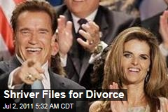 Maria Shriver Files for Divorce From Arnold Schwarzenegger