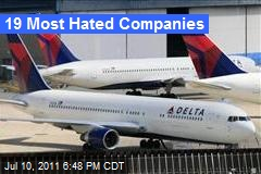 19 Most Hated Companies