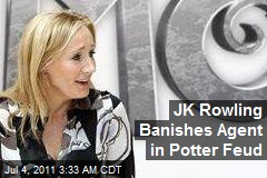 JK Rowling Banishes Agent in Potter Feud