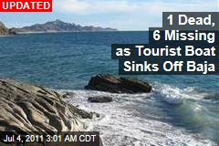 Americans Missing as Mexico Tourist Boat Sinks