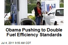 Obama Pushing to Double Fuel Efficiency Standards