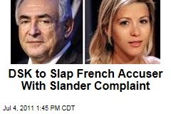 Dominique Strauss-Kahn to Slap French Accuser Tristane Banon With Slander Complaint
