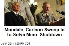 Walter Mondale, Arne Carlson Swoop In to Solve Minnesota Shutdown