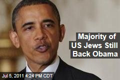 Jewish American Gallup Poll: Majority of US Jews Still Back President Barack Obama