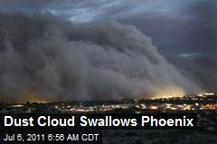 Dust Cloud Swallows Phoenix