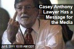 Cheney Mason Middle Finger: Casey Anthony Defense Attorney Flips Off Media While Celebrating Verdict