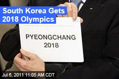 Pyeongchang, South Korea, to Host 2018 Winter Olympic Games