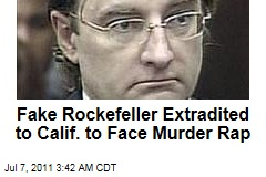 Fake Rockefeller Christian Gerhartsreiter Facing California Murder Rap