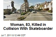 Woman, 83, Killed in Collision With Skateboarder