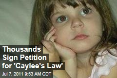 Casey Anthony Not Guilty Verdict Inspires Petition for 'Caylee's Law'