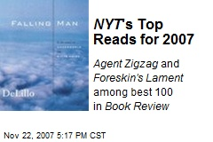 NYT 's Top Reads for 2007