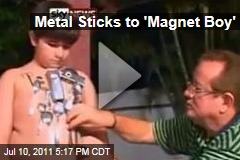 Metal Sticks to 'Magnet Boy' Paulo David Amorim