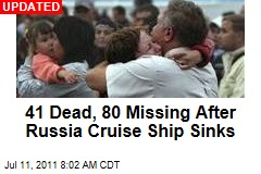9 Dead, 90 Missing After 'Bulgaria' Cruise Ship Sinks on Russia's Volga River