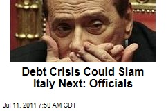 Euro Zone Debt Crisis Could Slam Italy Next