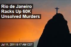 Brazilian State of Rio de Janeiro Racks Up 60K Unsolved Murders in Last Decade