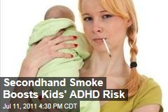Secondhand Smoke Could Increase Kids' ADHD Risk by 50%