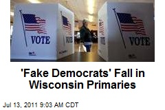 'Fake Democrats' Fall in Wisconsin Primaries