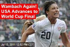 US Women's Soccer Team Defeats France, Advances to World Cup Final