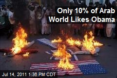 Only 10% of Arab World Likes Obama