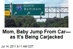 Baltimore Carjacking, Terron White: Mother, Baby Jump Out of Moving Car During Police Chase