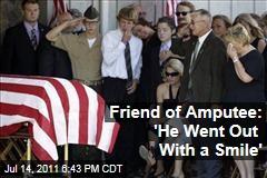 Iraq Veteran James Hackemer Remembered at Funeral