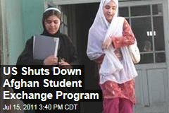 US Shuts Down Student Exchange with Afghanistan