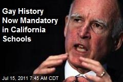 Gay History Now Mandatory in California Schools