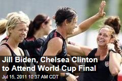 Women's World Cup Final: Jill Biden, Chelsea Clinton Will Watch US Face Japan