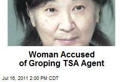 Woman Accused of Groping TSA Agent