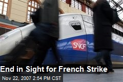 End in Sight for French Strike