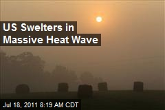 US Swelters in Massive Heat Wave
