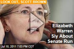 Elizabeth Warren Won't Rule Out Running for Scott Brown's Senate Seat