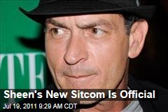 Charlie Sheen's New Sitcom, 'Anger Management,' Officially Announced