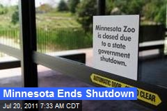 Minnesota Ends Shutdown