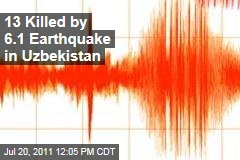 Uzbekistan Earthquake, 13 Dead: Magnitude-6.1 Quake Rocks Ferghana City