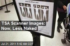 TSA Unveils Less Naked Scanner Images
